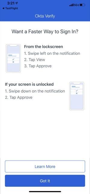 Okta Verify on the App Store
