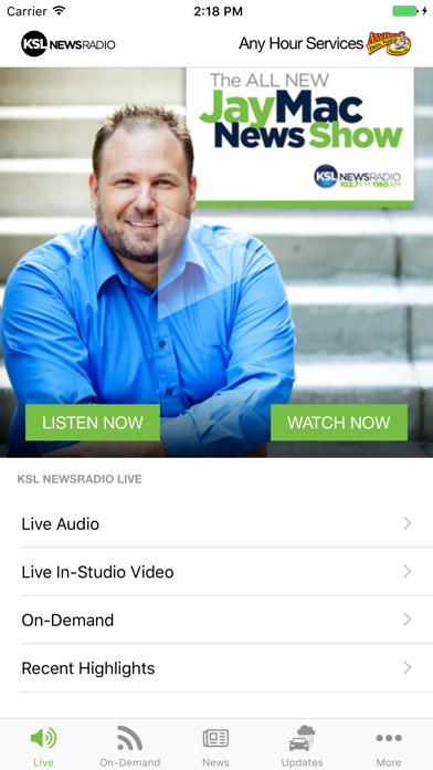 KSL News Radio screenshot one