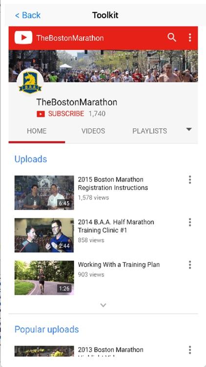 Marathon Map for Boston screenshot-4
