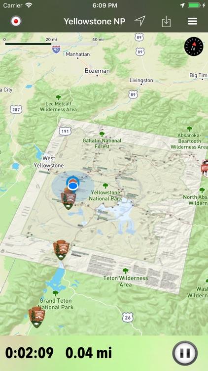 Wyoming Pocket Maps screenshot-3
