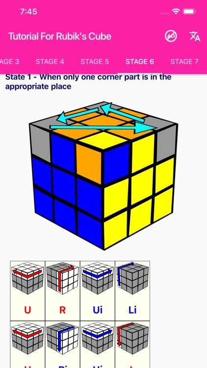 Tutorial For Rubik's Cube screenshot-5