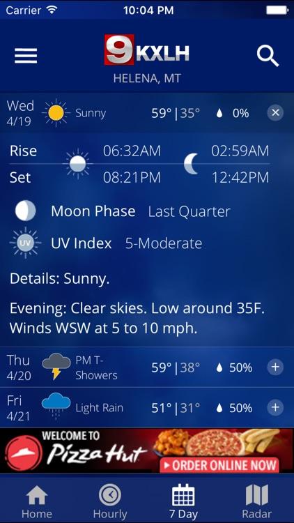 KXLH STORMTracker Weather screenshot-3