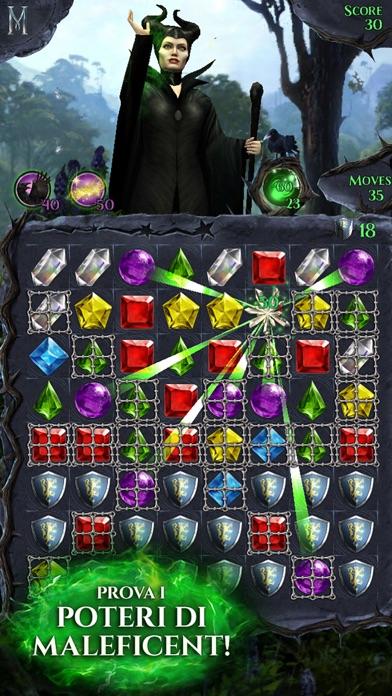 Screenshot of Maleficent Lampi di Gemme1