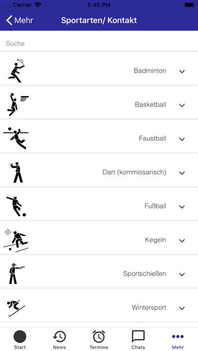 Bay. Gehörlosen-SportverbandScreenshot von 5