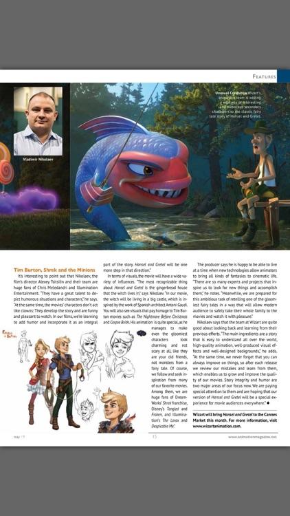 Animation Magazine, Art & VFX! screenshot-4