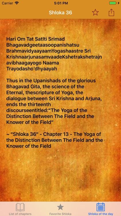 Shrimad Bhagavad Gita English