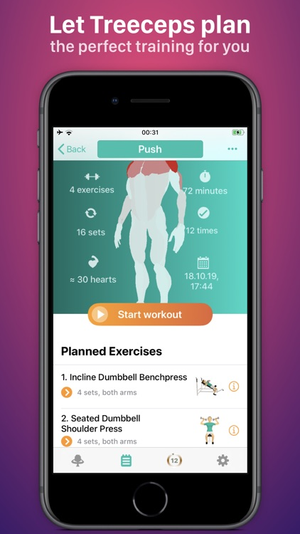 Treeceps: Fitness Workout Game screenshot-4