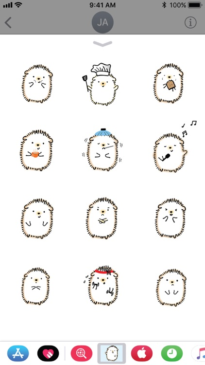 Hedgie the Hedgehog Stickers