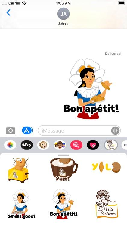 La Petite Bretonne Emojis screenshot-4