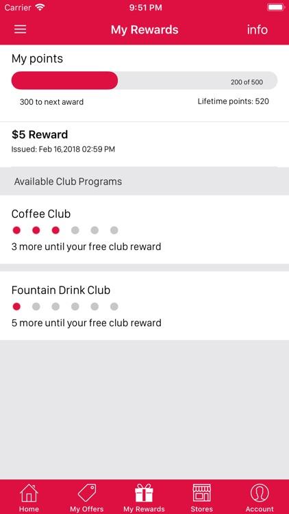 Rewards Program Mobile