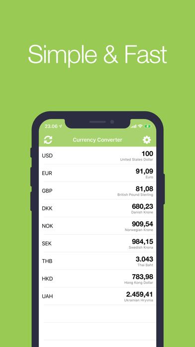 Конвертер валют • Валюта+Скриншоты 1