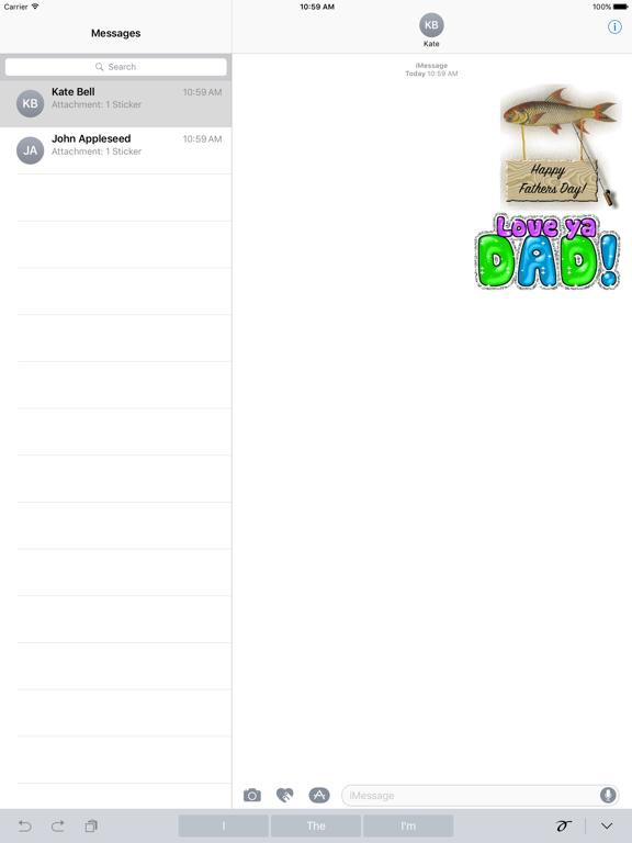 Happy Fathers Day Sticker Gifs screenshot 4