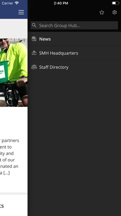 SMH Group Hub