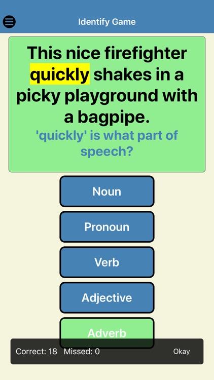 Silly Sentences Part of Speech