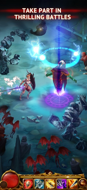 Mod Game Guild of Heroes: Magic Knights for iOS