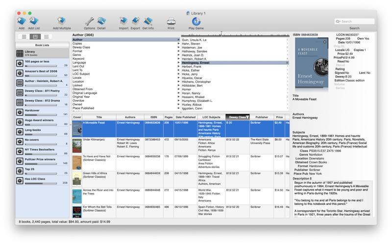 Booxter Lite Screenshot