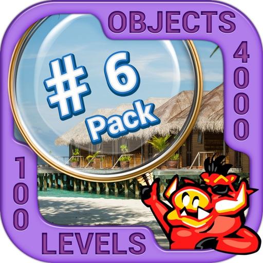 Pack 6 - 10 in 1 Hidden Object