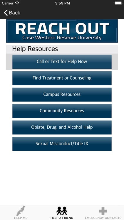 Reach Out-Case Western Reserve