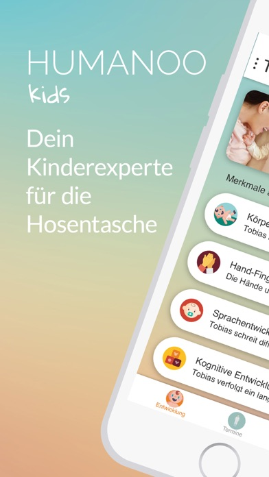 Screenshot for Humanoo Kids in Germany App Store