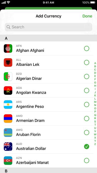 Currency screenshot