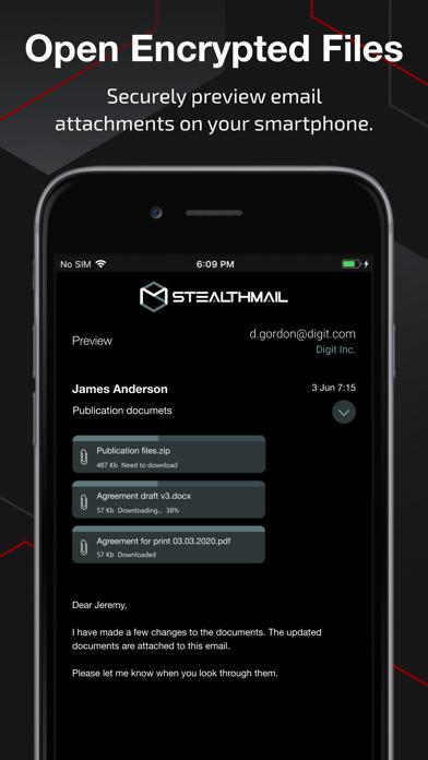 StealthMailСкриншоты 3