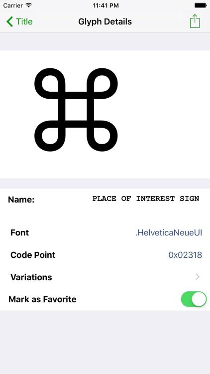Unicode Character Viewer