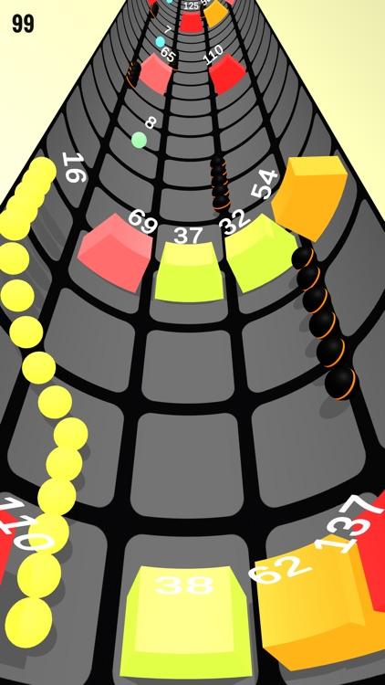 Rolly Snake Vs Vortex Block screenshot-3