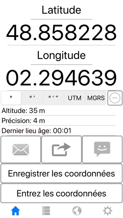 Ma position GPS