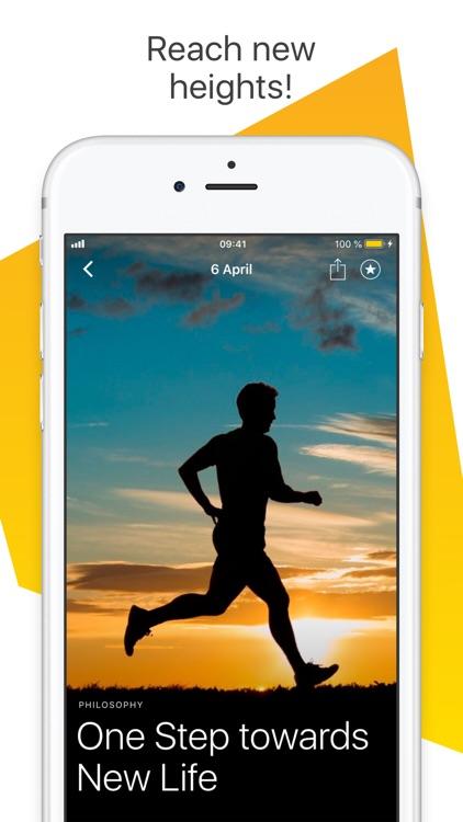 MotiDay - Daily Motivation screenshot-4