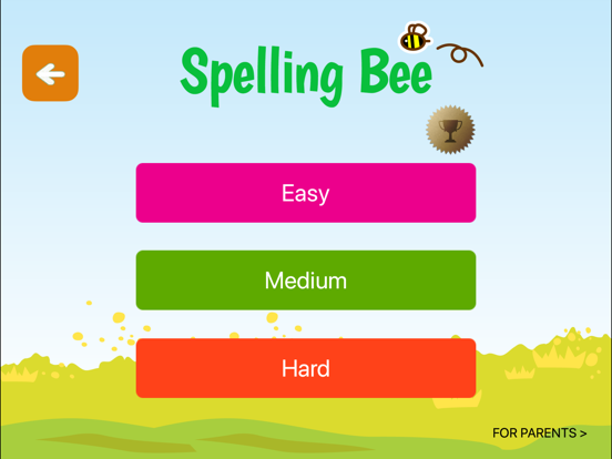 A+ Spelling Bee - Preschool Kids Spell Game App for English Words! screenshot