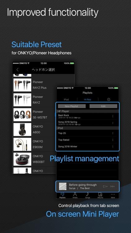 Onkyo HF Player screenshot-3