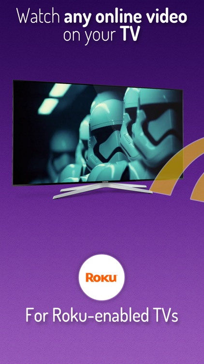 Cast Web Videos to Roku TV screenshot-0