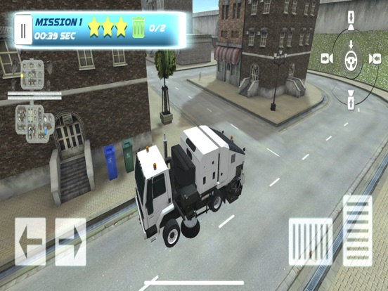 Скачать Garbage Truck Parking SIM