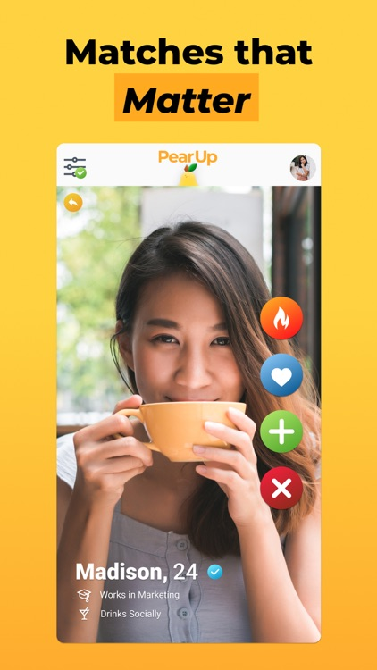 PearUp - Chat & Dating App screenshot-3