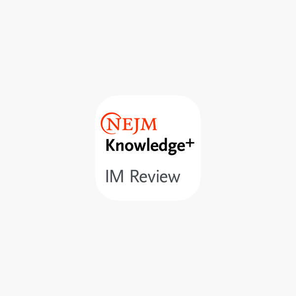 NEJM Knowledge+ IM Review on the App Store