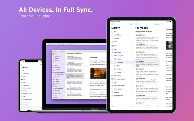 UlyssesMac Screenshot