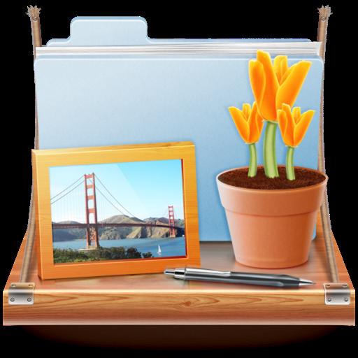桌面整理工具 DesktopShelves