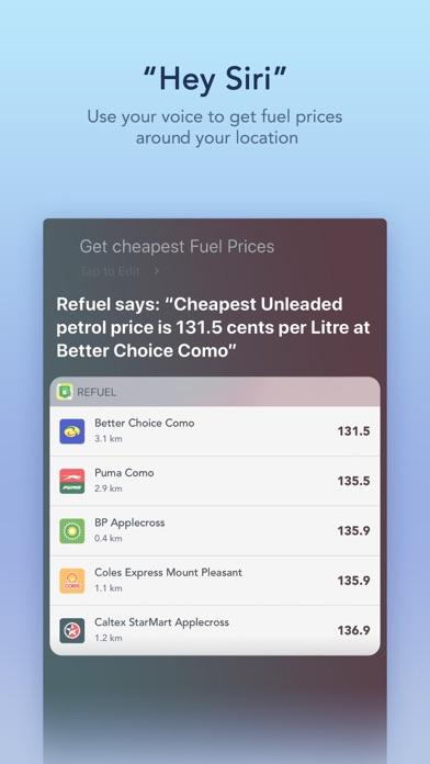 Screenshots for Refuel - WA Fuel Prices