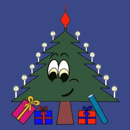 Christmas Tree Emotion sticker