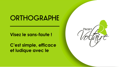 Orthographe Projet Voltaire