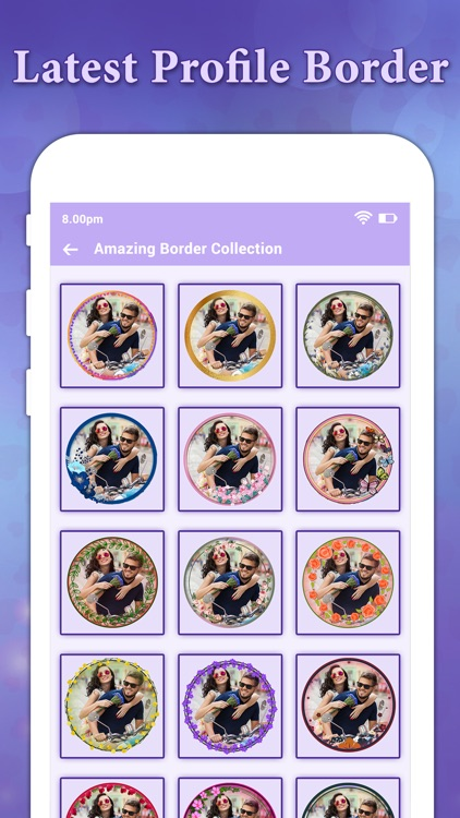 Profile Picture Border -Circle screenshot-5