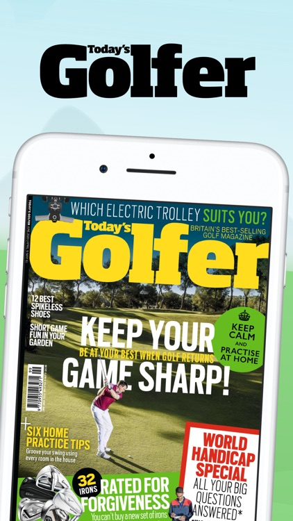 Today's Golfer: News & Stories screenshot-0
