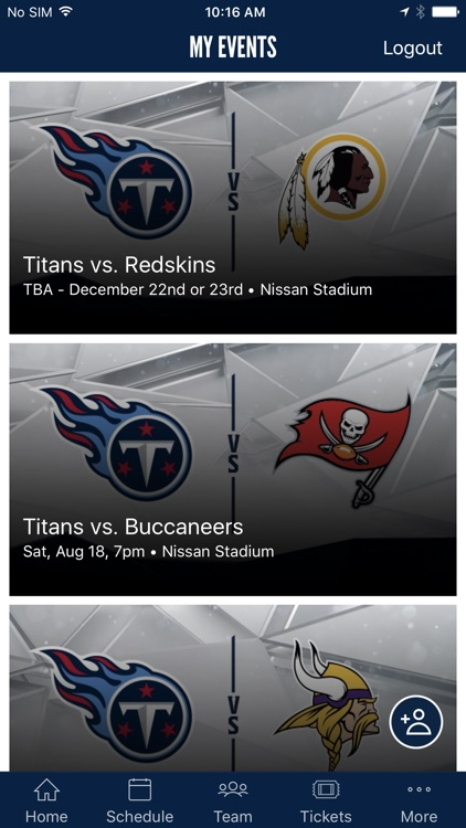 Tennessee Titans Mobile screenshot-3
