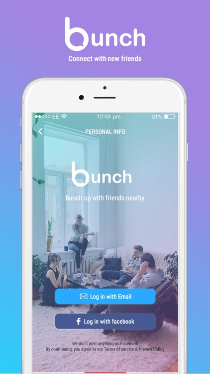Bunch-connect with new friends