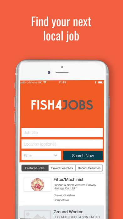 Fish4jobs Job Search screenshot one