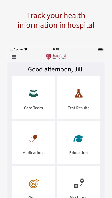 messages.download Stanford Health Care MyHealth software
