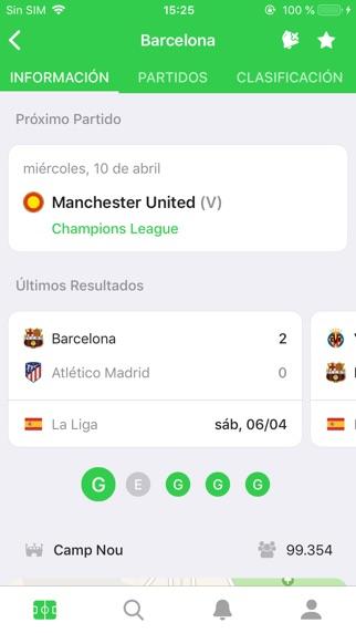 Screenshot for CrowdScores - Fútbol en vivo in Chile App Store