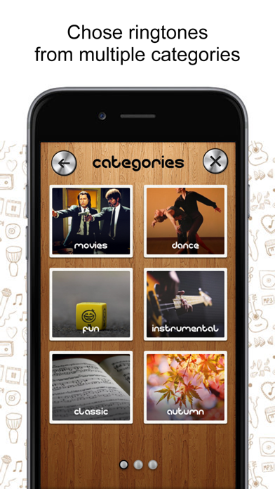 Ringtone Garage  - create your own ringtones screenshot