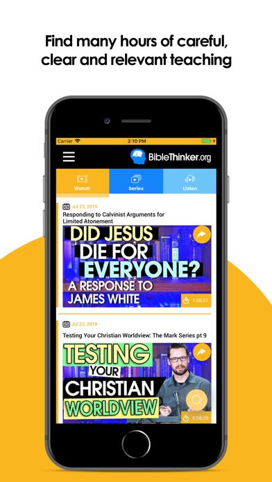 BibleThinker screenshot one