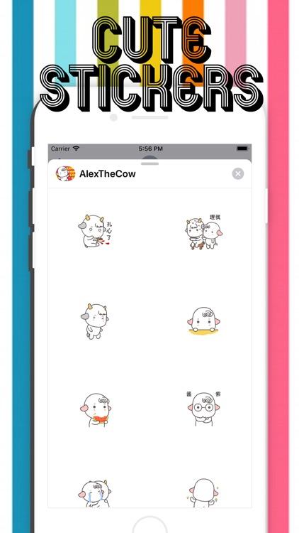 Alex The Cow